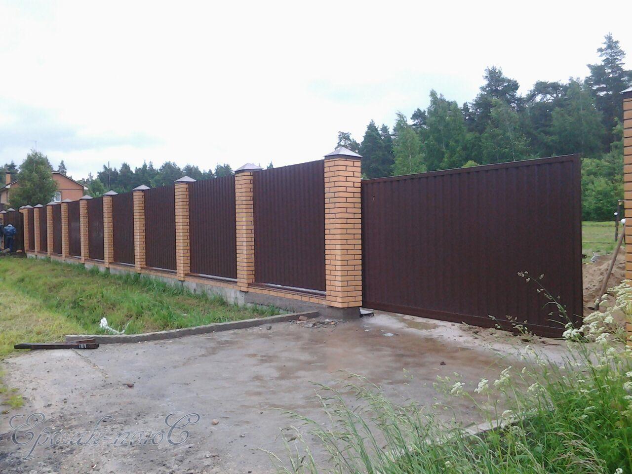 Установка заборов во Владимирской области