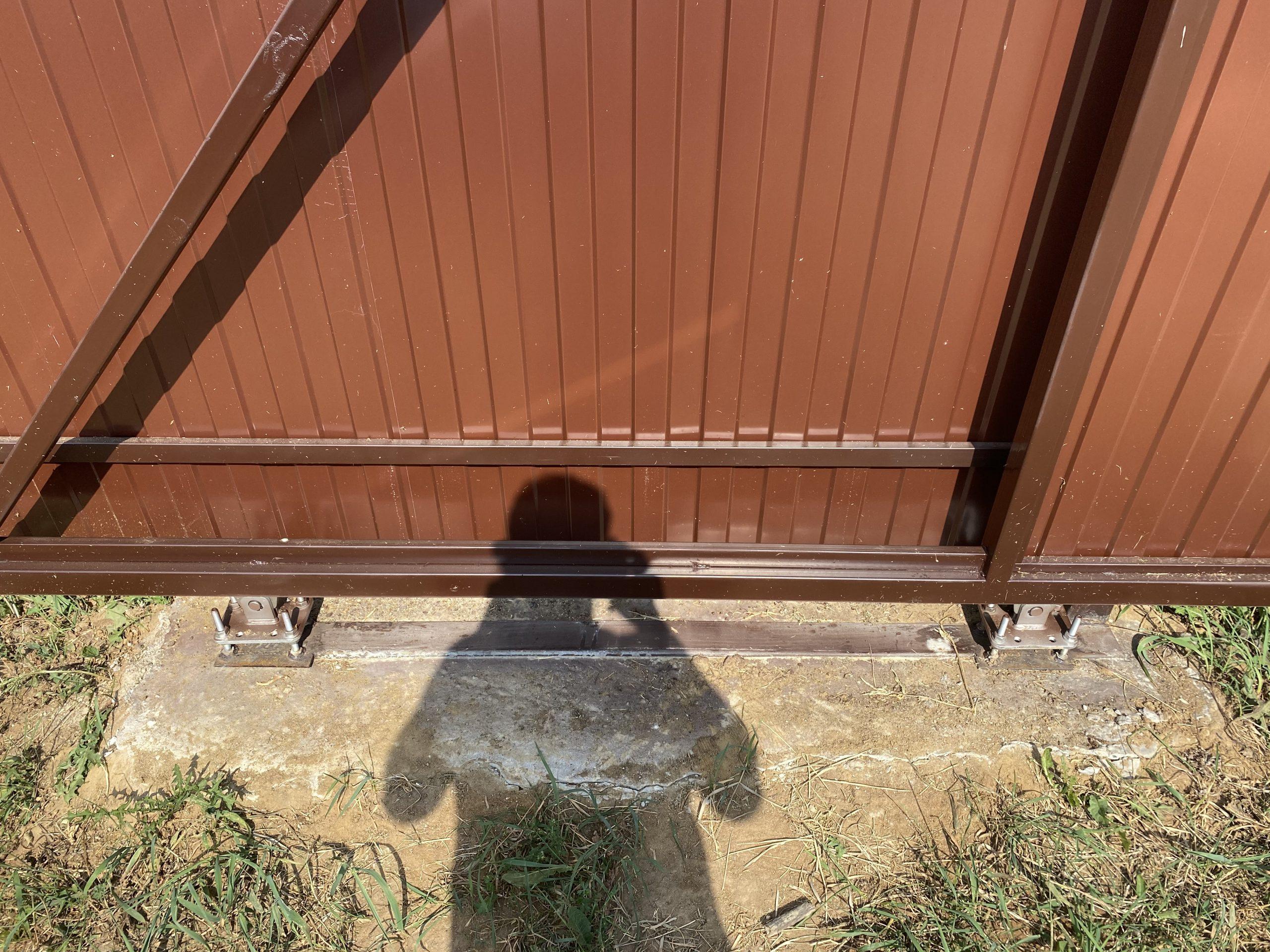 Установка откатных ворот во Владимире Фото 5